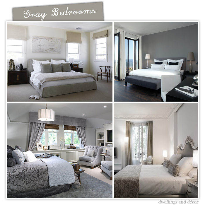 Gray Room Ideas. Futuristic Navy Blue And Gray Bedroom Decorating