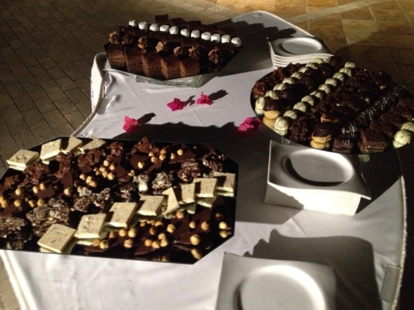 chcolate party platter