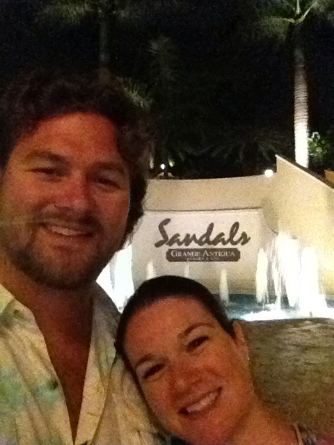 entrance of sandals grande antigua