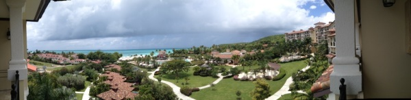 panoramic views of sandals grande antigua