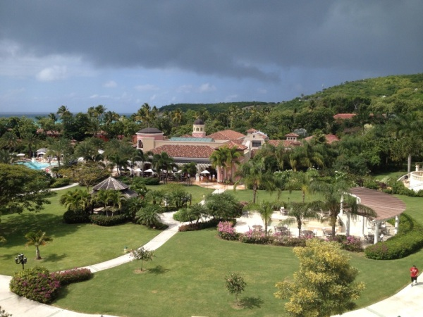 the grounds of sandals grande antigua